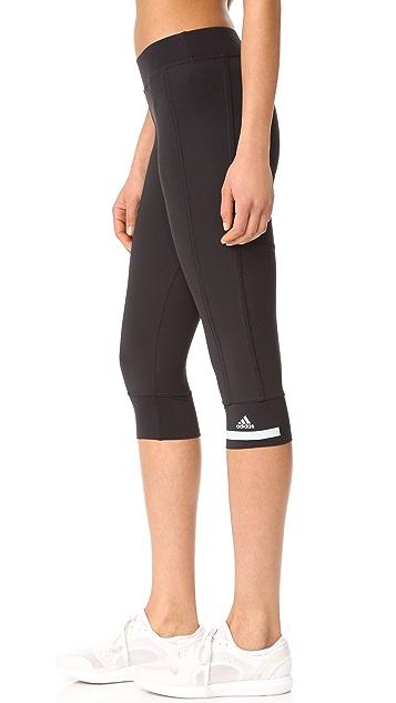 adidas by Stella McCartney 3/4 贴腿裤
