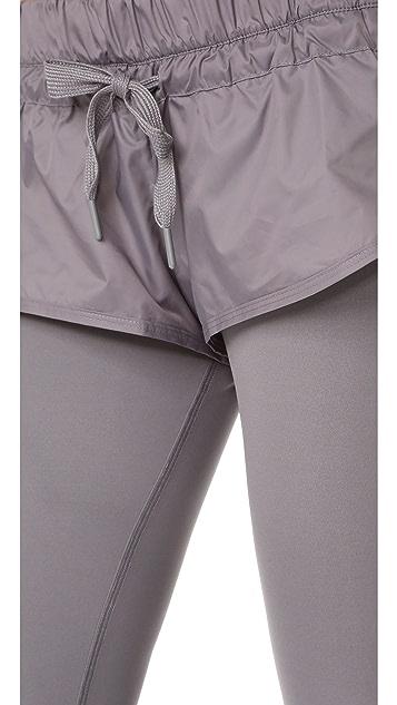 adidas by Stella McCartney 短款贴腿裤