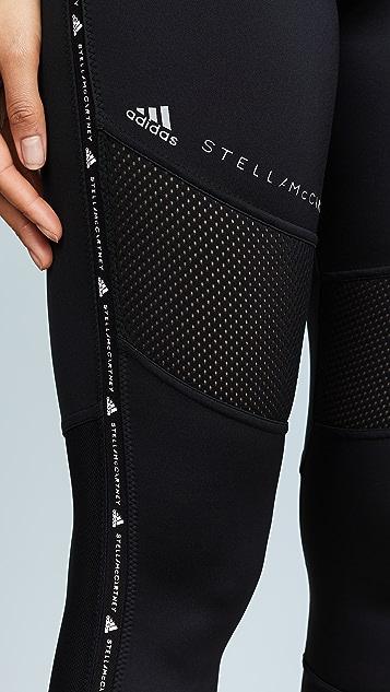 adidas by Stella McCartney 高性能基础款贴腿裤