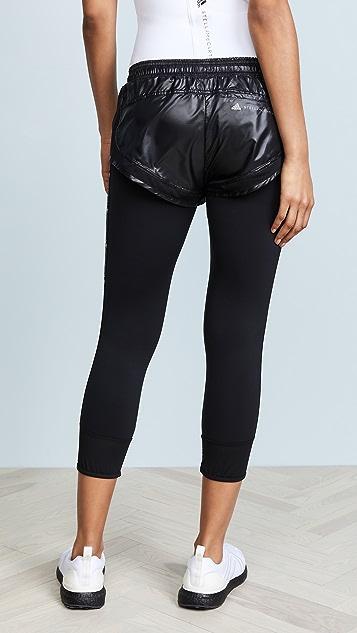 adidas by Stella McCartney 高性能基础款短裤和紧身裤