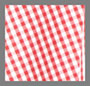 红色/白色方格