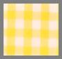 白色/黄色格子