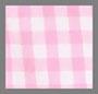 粉色/白色格子
