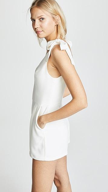 Amanda Uprichard Iris 短款连身衣