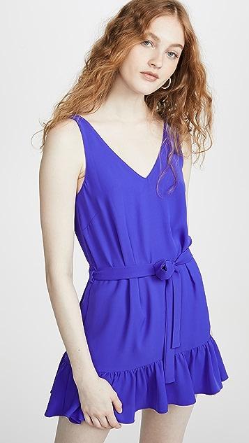 Amanda Uprichard Pamela 配半身裙短款连身衣