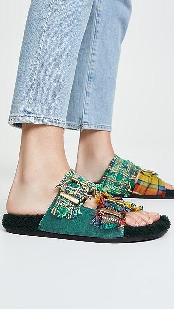 Avec Moderation Vail 双带凉鞋