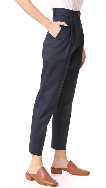 A.W.A.K.E.  高腰窄裤