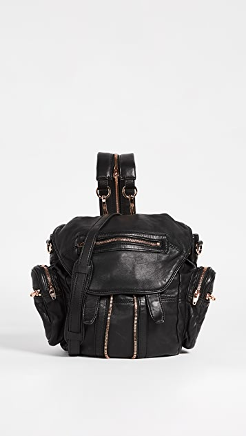 Alexander Wang 玫瑰金金属配件迷你 Marti 背包