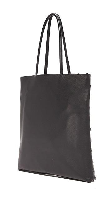 Alexander Wang 圆顶形铆钉笼形购物手提袋