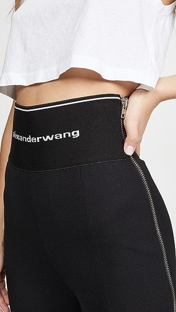 Alexander Wang 弹性斜纹织物紧身裤