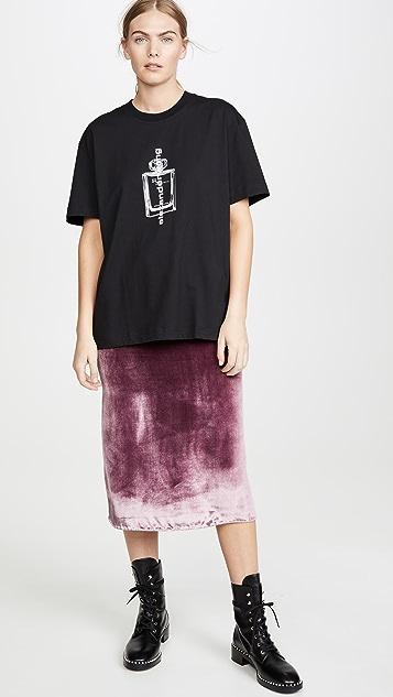 Alexander Wang 短袖图案 T 恤