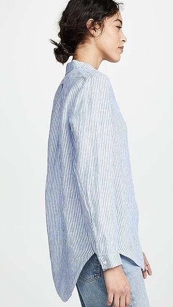 AYR 简约亚麻衬衫