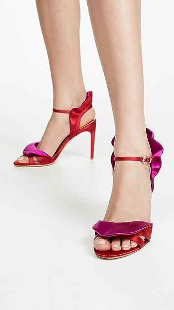 Badgley Mischka Ella 系带凉鞋