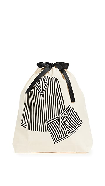 Bag-all 条纹睡衣有型包
