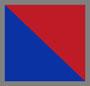 大号格纹蓝/黄绿色/红色