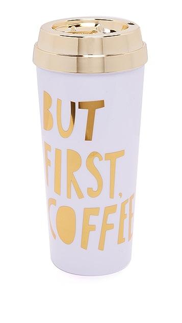 ban.do But First Coffee Hot Stuff 保温马克杯