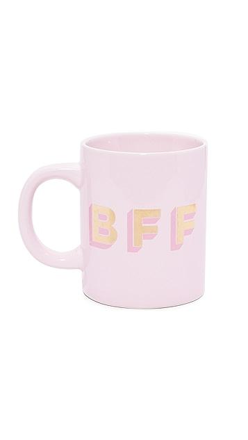 ban.do BFF Hot Stuff 陶瓷杯子