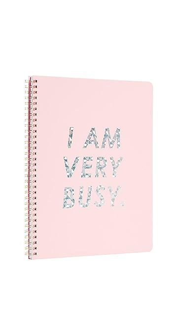 ban.do I Am Very Busy 大号笔记本