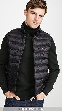 바버 조끼 Barbour Bretby Gilet Vest,Black