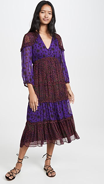 Ba&sh 波西米亚风格连衣裙