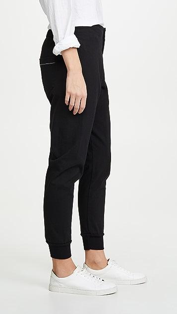 Bassike 经典修身锥形运动裤