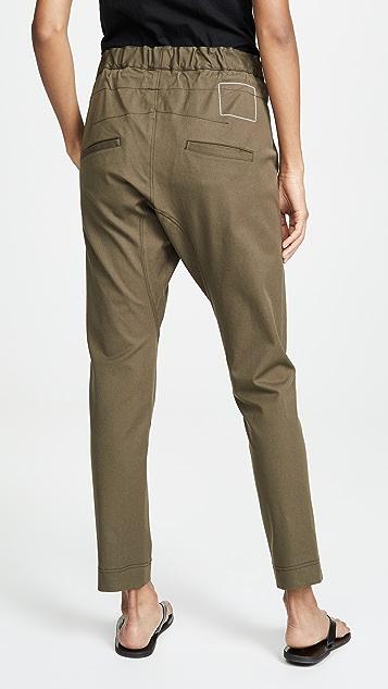 Bassike 弹性休闲裤