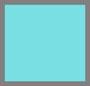 蓝绿色/金色