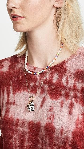 BaubleBar 珍珠和多珠饰项链