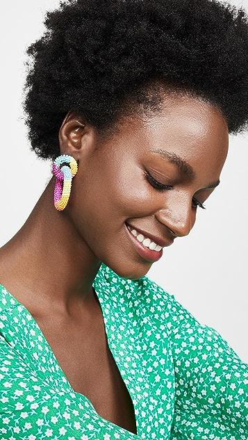 BaubleBar Emma 圈式耳环