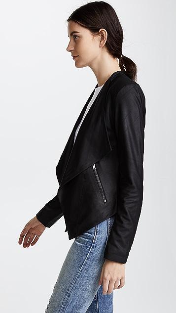 BB Dakota Siena 软皮夹克