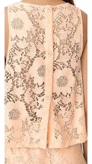 BB Dakota Jeanette 蕾丝短款连身衣