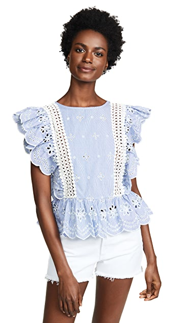 BB Dakota 圆孔女式衬衫