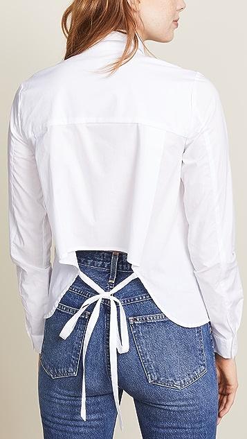 BB Dakota Bittersweet Symphony 垂褶后身女式衬衫