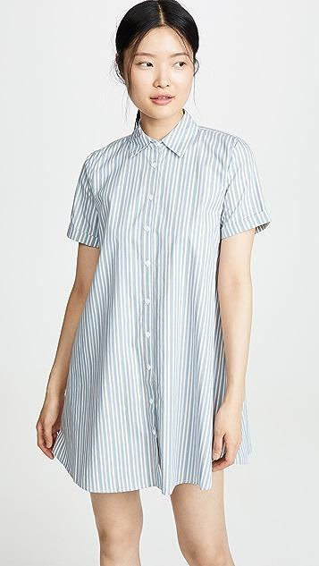 BB Dakota Stripe A Personality 连衣裙