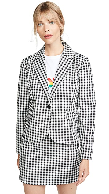 BB Dakota 格子图案夹克