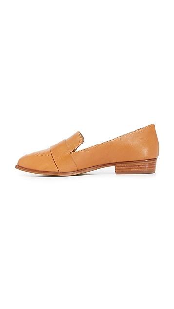 blank 帆布凉鞋 饰带浅口船鞋