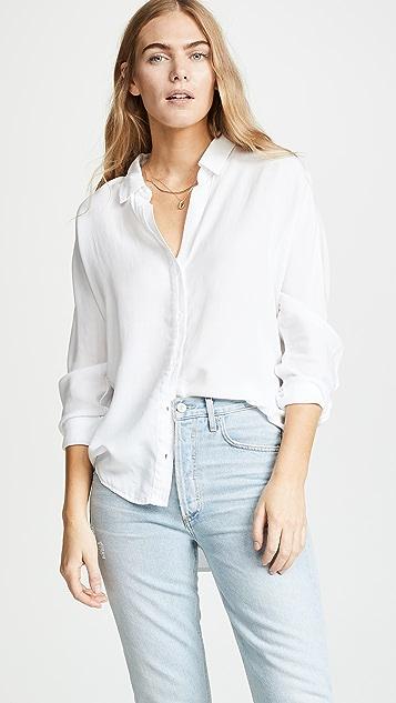 Bella Dahl 半衣襟系扣衬衣
