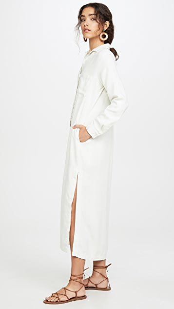 Bella Dahl 口袋长连衣裙