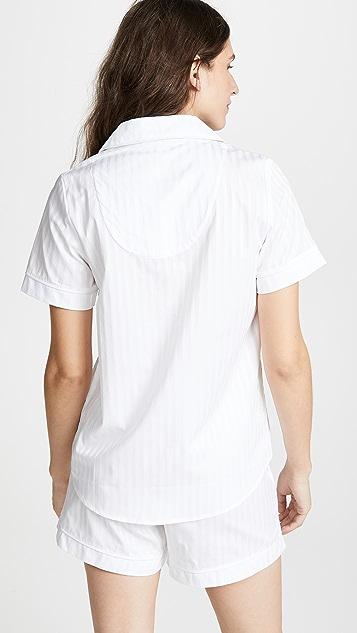 BedHead Pajamas 经典条纹睡衣套装