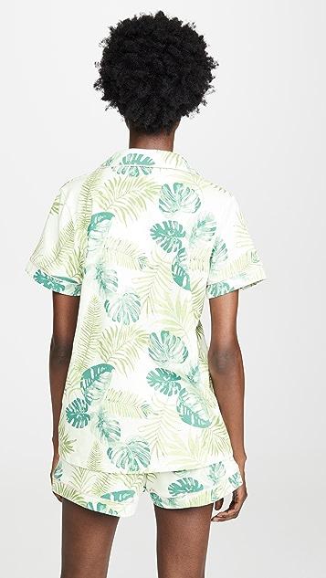 BedHead Pajamas 岛屿棕榈经典睡衣套装