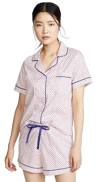 BedHead Pajamas Jill 圆点经典短裤睡衣