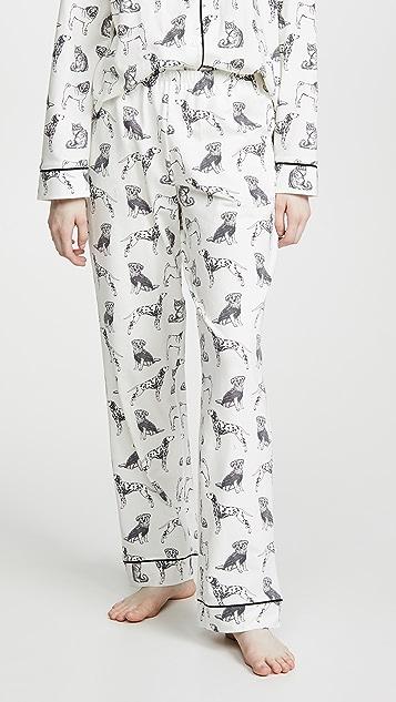 BedHead Pajamas Dog Days 经典睡衣套装