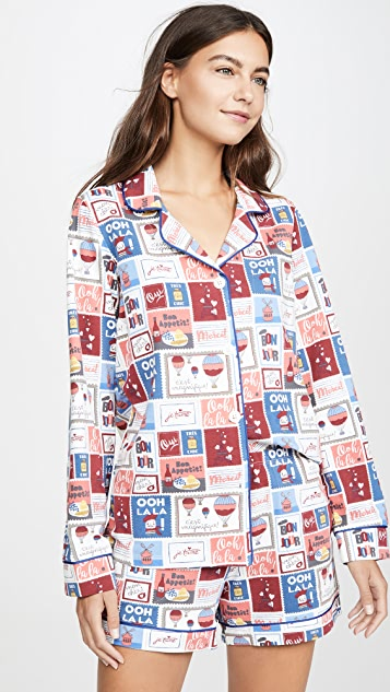BedHead Pajamas Special Delivery 短裤睡衣套装
