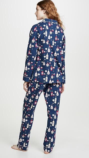 BedHead Pajamas Wine Tasting 经典睡衣套装