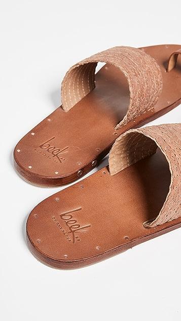 beek Dove Braid 凉鞋