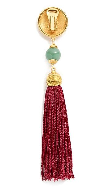 Ben-Amun Jade 流苏耳环