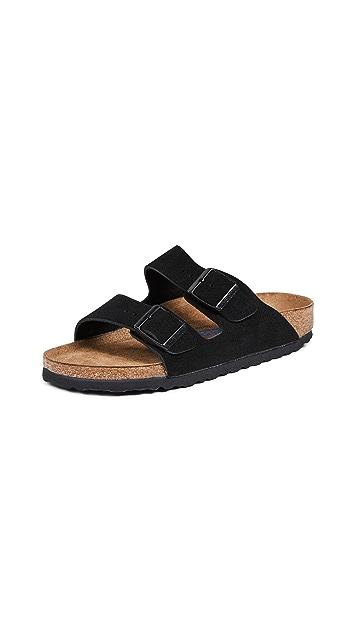 勃肯鞋 Arizona 柔软凉鞋 - 窄版