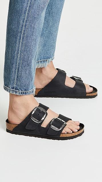 勃肯鞋 Arizona 大号搭扣凉鞋