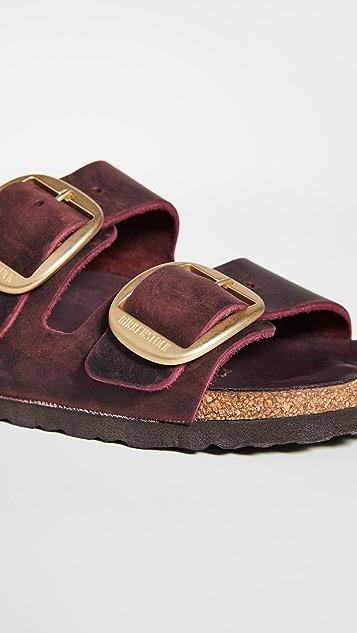 勃肯鞋 Arizona 大号搭扣凉鞋 - 窄版