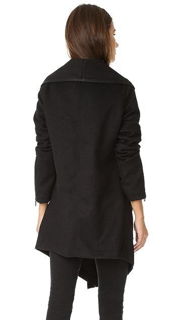 Blank Denim 正面垂褶夹克
